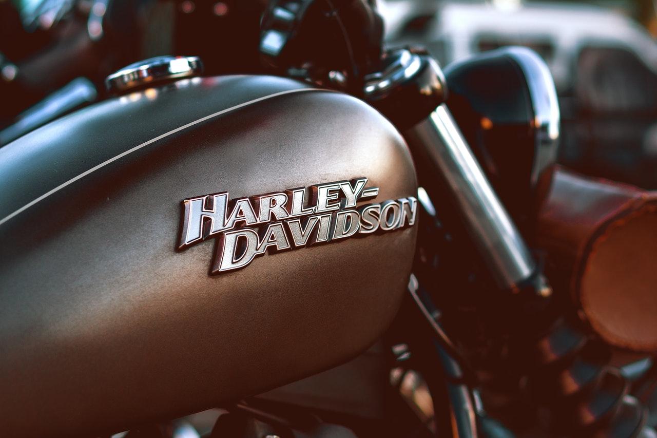 Moto Vintage de la marque Harley Davidson
