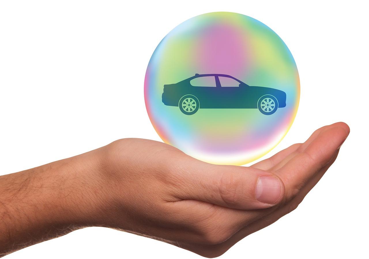 Bulle de protection, grâce à une assurance auto